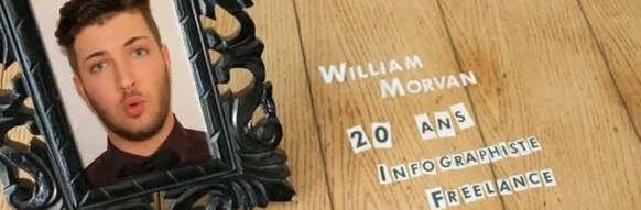 le cv original de la semaine   william morvan et son cv en