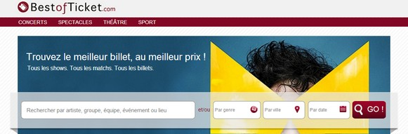 Bestofticket : le premier comparateur de billetterie en ligne