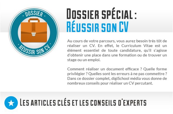 dossier   comment r u00e9ussir son cv