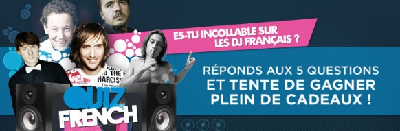 Quiz French DJ NRJ
