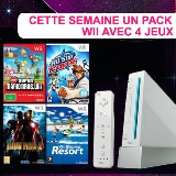 Gagne ton pack Nintendo Wii plus 4 jeux
