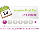 Inscription Admission PostBac 2011 : C'est parti !