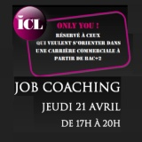 Soirée Job Coaching à l'ICL le 21 Avril