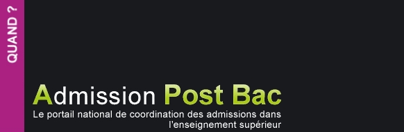 Dates Admission Post Bac 2013 : les dates à retenir