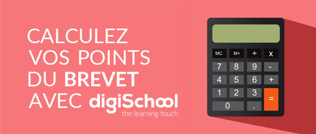 calculer ses points au brevet 2018 en ligne