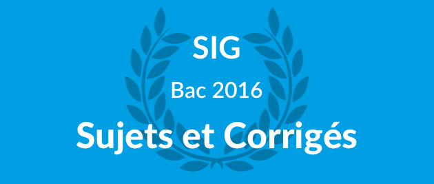 corrig sig bac stmg 2016 et sujet gratuit. Black Bedroom Furniture Sets. Home Design Ideas