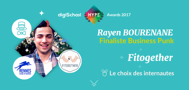 Fitogether, finaliste des digiSchool HYPE Awards 2017