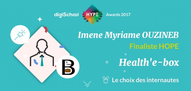 Healthy RedBox, finaliste des digiSchool HYPE Awards 2017