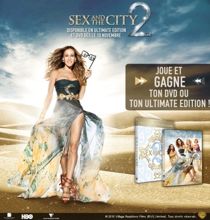Sex and the city 2 DVD gratuit