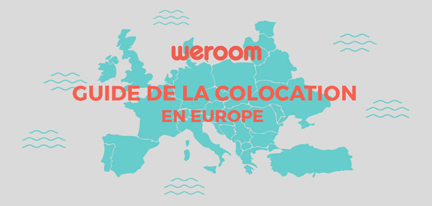 [Infographie] Le guide de la coloc en Europe