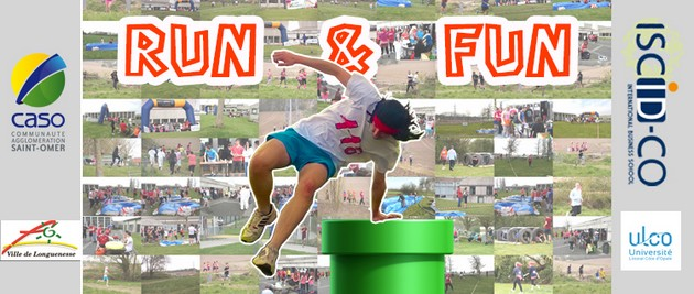 Run & Fun, course d\'obstacle, ISCID-CO, sport, ULCO
