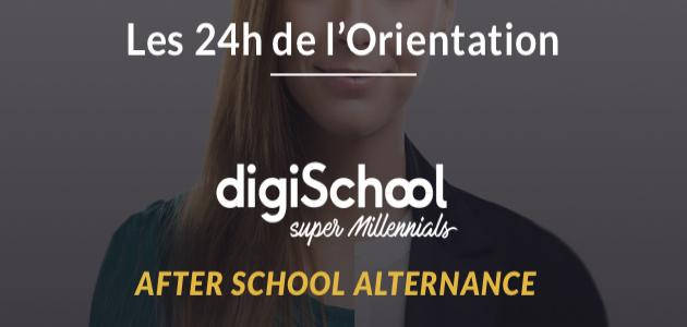 digiSchool organise Les 24h de l'Orientation Alternance 2018