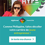 Philippine Dolbeau, marraine des digiSchool HYPE Awards 2016