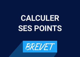 Comment calculer les points du Brevet 2019
