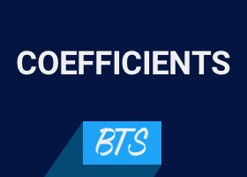 Focus sur les coefficients des BTS 2018