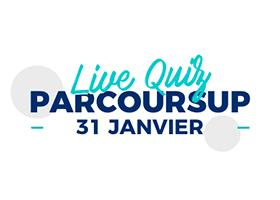 Le live quiz Parcoursup disponible en replay