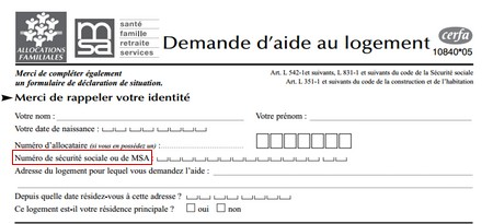 Documents Demande Apl Caf